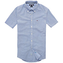 Buy Tommy Hilfiger Newbeach Stripe Shirt, Princess Blue/Classic White Online at johnlewis.com