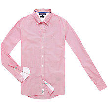 Buy Tommy Hilfiger Robin Long Sleeve Cotton Shirt, Chrysanthemum Online at johnlewis.com