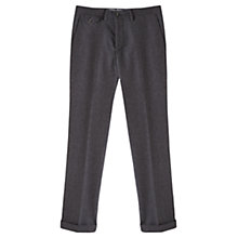 Buy Jigsaw Wool and Cotton Trousers, Grey Online at johnlewis.com