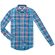 Buy Tommy Hilfiger Emery Long Sleeve Cotton Shirt Online at johnlewis.com