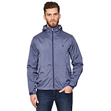 Buy Original Penguin Hooded Jacket, Royal Blue Melange Online at johnlewis.com