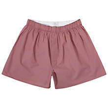 Buy Sunspel Woven Spot Boxers Online at johnlewis.com
