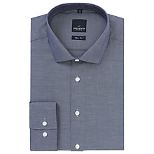 Buy Daniel Hechter Micro Oxford Shirt, Navy Online at johnlewis.com