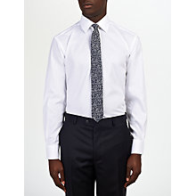Buy Daniel Hechter Tailored Fit Poplin Shirt, White Online at johnlewis.com