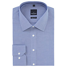 Buy Daniel Hechter Puppytooth Cotton Shirt, Navy/White Online at johnlewis.com