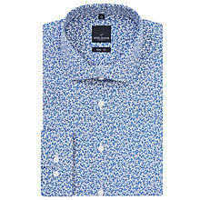 Buy Daniel Hechter Ditsy Floral Print Shirt, Blue/White Online at johnlewis.com