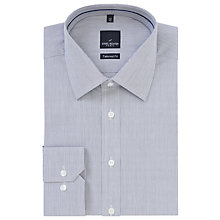 Buy Daniel Hechter Fine Stripe Cotton Shirt, Light Grey Online at johnlewis.com