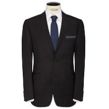 Buy Daniel Hechter Pindot Suit Jacket, Dark Charcoal Online at johnlewis.com