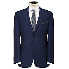 Buy Daniel Hechter Tonic Tailored Suit Jacket, Bright Indigo Online at johnlewis.com