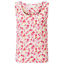 Buy Collection WEEKEND by John Lewis Summer Floral Print Vest, Pink/Multi Online at johnlewis.com