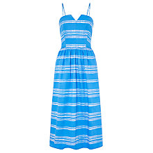 Buy John Lewis Sylvia Stripe Dress, Blue Online at johnlewis.com