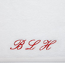 Buy Peter Reed Personalised Monogrammed Towels Online at johnlewis.com