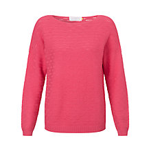 Buy Collection WEEKEND by John Lewis Drop Needle Boat Neck Top Online at johnlewis.com