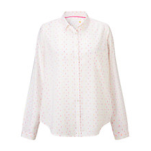 Buy Collection WEEKEND by John Lewis Tutti Frutti Dobby Shirt, White Online at johnlewis.com