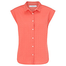Buy John Lewis Dobby Sleeveless Stripe Shirt Online at johnlewis.com