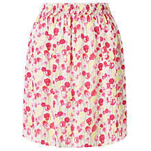 Buy Collection WEEKEND by John Lewis Summer Floral Print Skirt, Pink/Multi Online at johnlewis.com