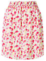 Collection WEEKEND by John Lewis Summer Floral Print Skirt, Pink/Multi