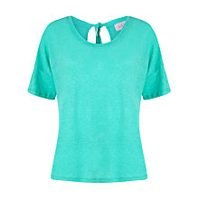 Buy Collection WEEKEND by John Lewis Tie Back Linen Top Online at johnlewis.com
