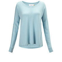 Buy Collection WEEKEND by John Lewis Swing Cashmere Sweater, Cool Blue Online at johnlewis.com