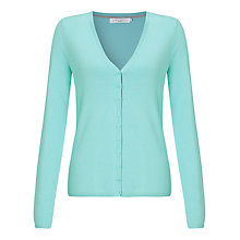 Buy John Lewis Soft Touch Mini Button Cardigan Online at johnlewis.com