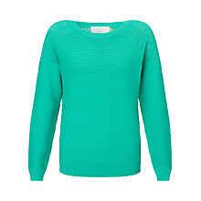 Buy Collection WEEKEND by John Lewis Lace Pointelle Knit Top Online at johnlewis.com