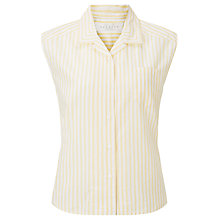Buy Collection WEEKEND by John Lewis Sleeveless Stripe Shirt Online at johnlewis.com