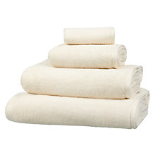 Buy Peter Reed Monogrammed Towels, Ivory Online at johnlewis.com