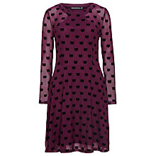 Buy Sugarhill Boutique Top Cat Dress, Mulberry Online at johnlewis.com