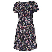 Buy Fat Face Gypsy Floral Dress, Phantom Online at johnlewis.com