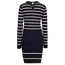 Buy Sugarhill Boutique Kellie Dress, Navy/Off White Online at johnlewis.com
