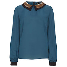 Buy Sugarhill Boutique Jojo Blouse, Teal Online at johnlewis.com