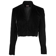 Buy Phase Eight Velvet Jacket, Black Online at johnlewis.com