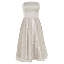 Buy Coast Bloome Sequin Dress, Neutral Online at johnlewis.com