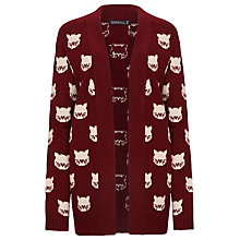 Buy Sugarhill Boutique Topcat Cardigan, Wine / Stone Online at johnlewis.com