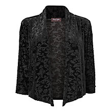 Buy Phase Eight Amber Burnout Shrug, Black Online at johnlewis.com