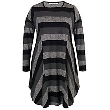 Buy Chesca Space Dye Tunic Dress, Charcoal Online at johnlewis.com