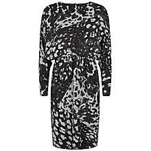 Buy Fenn Wright Manson Sian Silk Dress, Monochrome Online at johnlewis.com