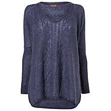 Buy Phase Eight Ebony Mohair Jumper, Indigo Online at johnlewis.com