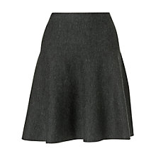 Buy Phase Eight Freja Flared Skirt, Charcoal Online at johnlewis.com