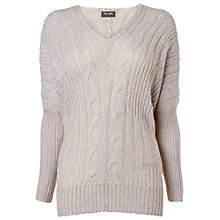 Buy Phase Eight Effie Cable Jumper, Natural Online at johnlewis.com