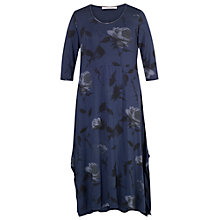 Buy Chesca Floral Jersey Dress, Night Sky Online at johnlewis.com