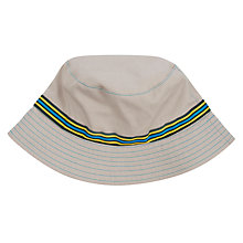 Buy John Lewis Boy Natural Bucket Hat, Natural Online at johnlewis.com