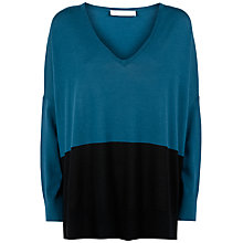 Buy Fenn Wright Manson Orla Jumper, Teal/Black Online at johnlewis.com