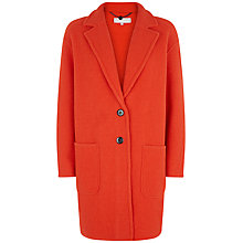 Buy Fenn Wright Manson Barbara Coat, Blood Orange Online at johnlewis.com