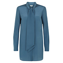 Buy Hobbs Painswick Blouse, Airforce Blue Online at johnlewis.com