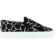 Buy Senso Ava Pony Giraffe Print Slip-On Trainers, Black Online at johnlewis.com