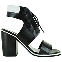 Buy Senso Riley Leather Block Heeled Sandals Online at johnlewis.com