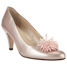 Buy John Lewis Made in England Holt Embellished Court Shoes, Rose Pink Online at johnlewis.com