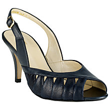 Buy John Lewis Gresham Cut-Out Detail Leather Sandals Online at johnlewis.com