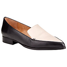 Buy COLLECTION by John Lewis Capri Leather Loafers, Black Online at johnlewis.com
